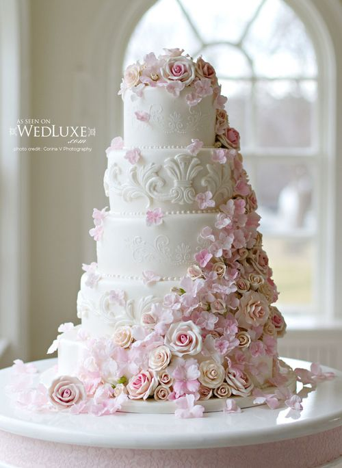 2014 beautiful wedding cakes designs